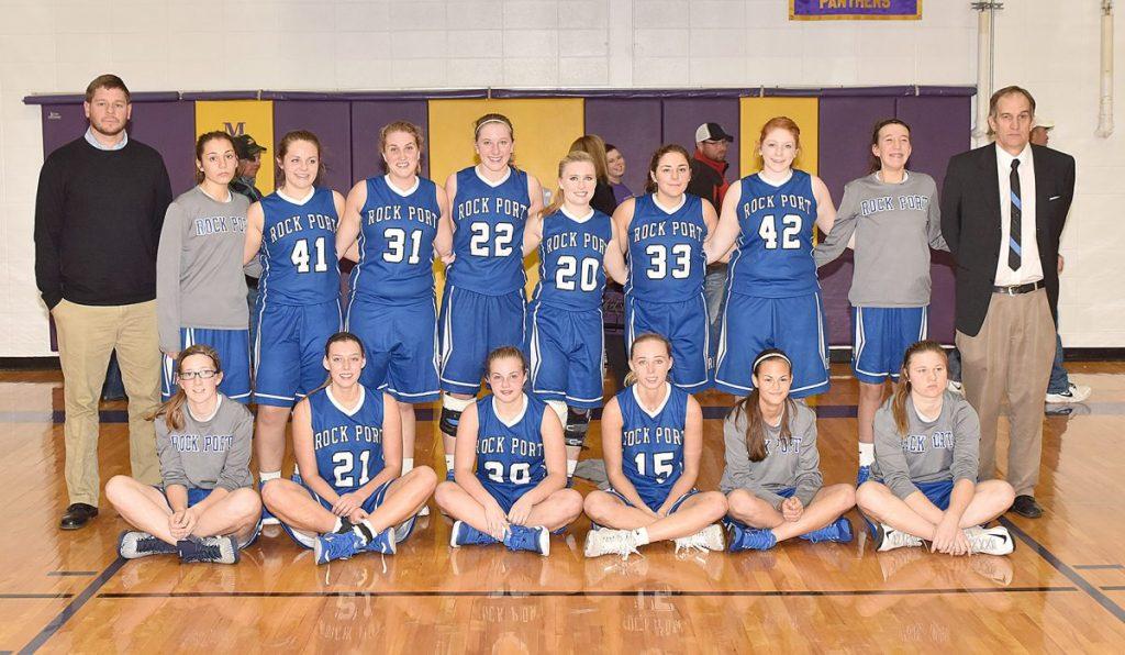 Rock Port Girls Basketball Team