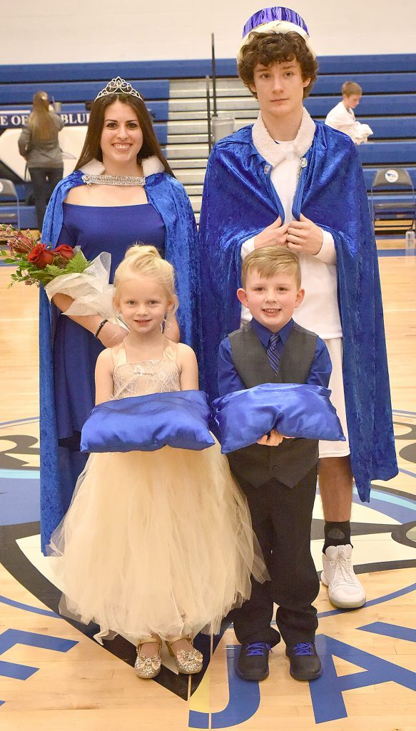Basketball Homecoming Court