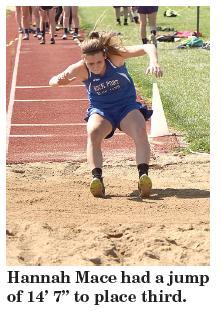 annah Mace long jump