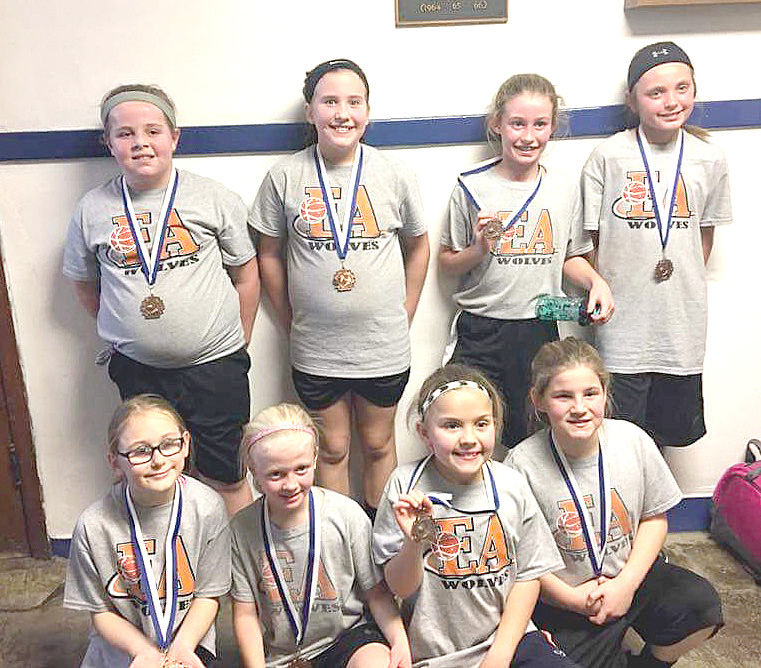 The Fourth Grade - East Atchison Girls' Basketball Team