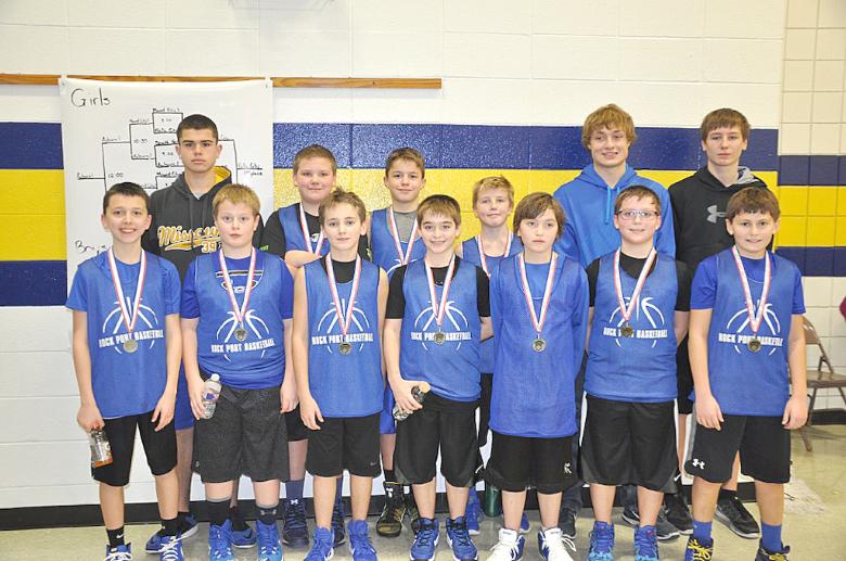 Rock Port 5th Grade Boys basketball