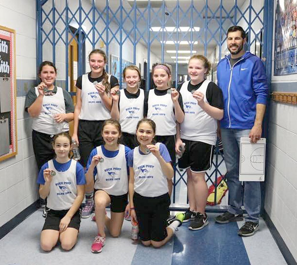 6th grade girls place 2nd