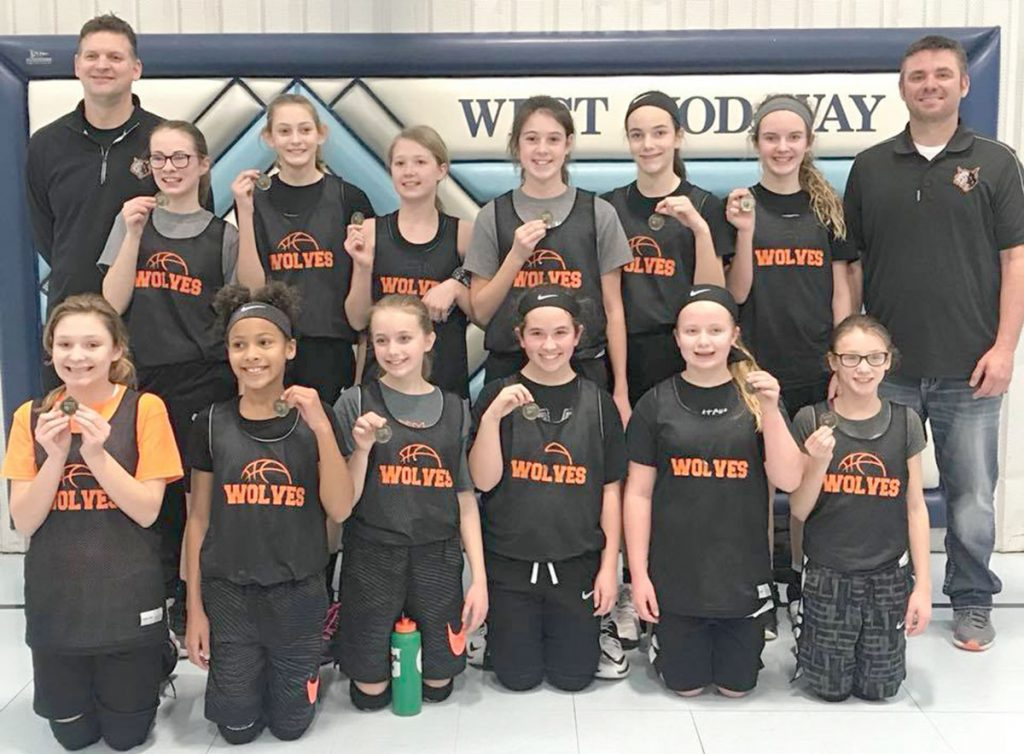 6th Grade Lady Wolves