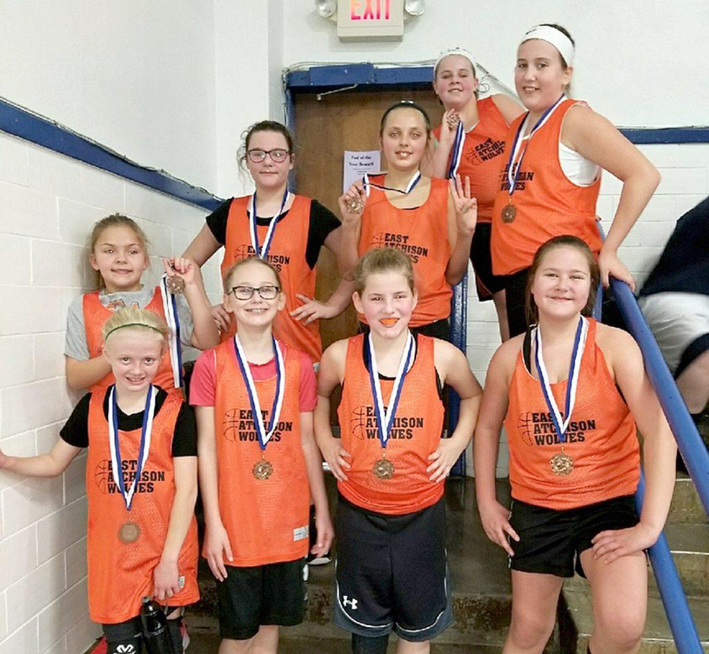 East Atchison 5th grade girls' basketball