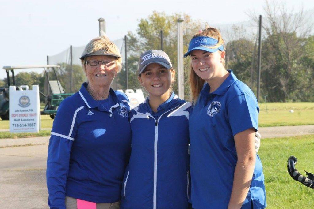 Sue Owen, Gretchen Tharp, and Ally Demott