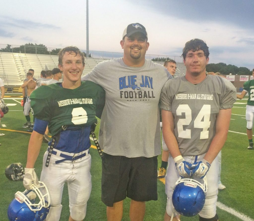 Brady Minter, Ross Hastert, and Colby Linthicum