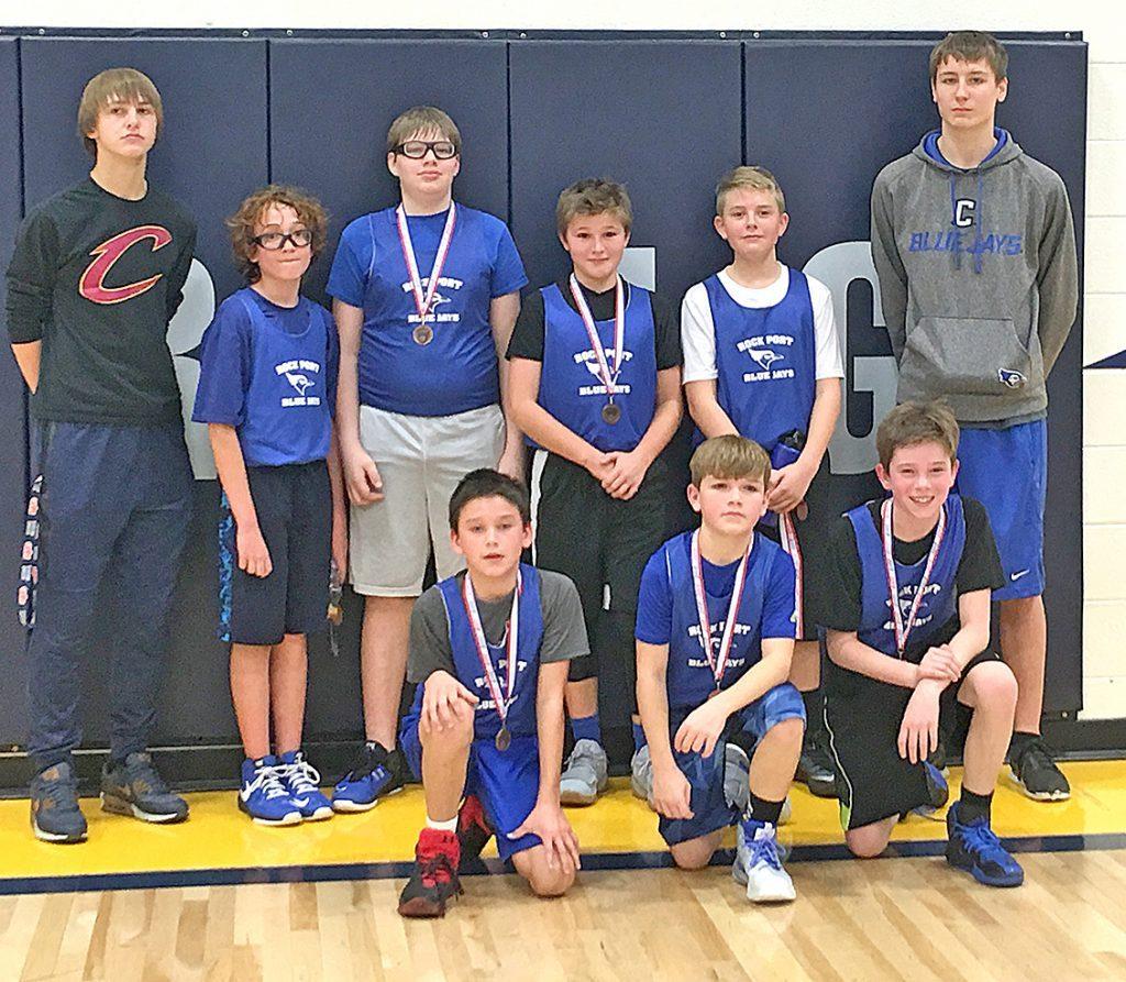 Rock Port's 6th grade boys