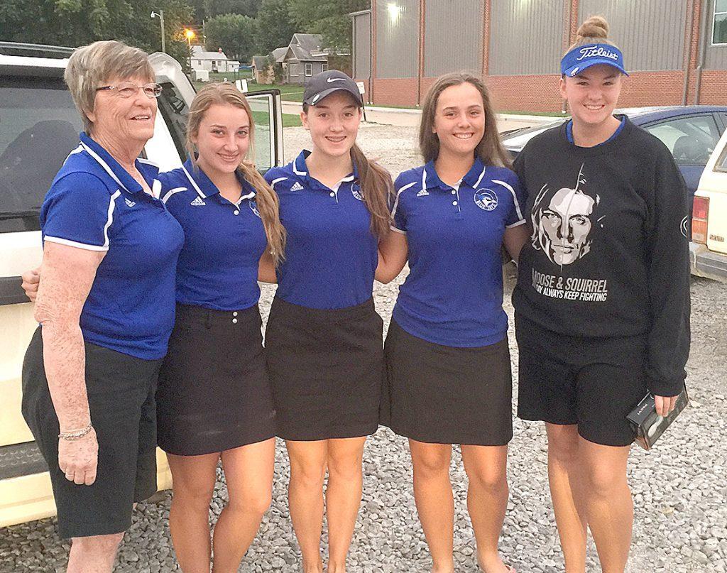 Rock Port Girls' Golf Team