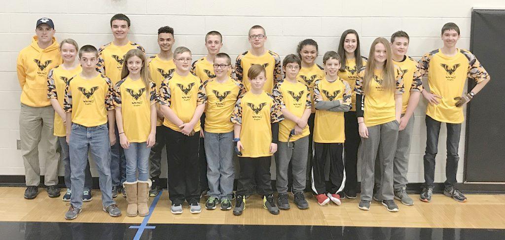Northwest Missouri Homeschool Group archery Team