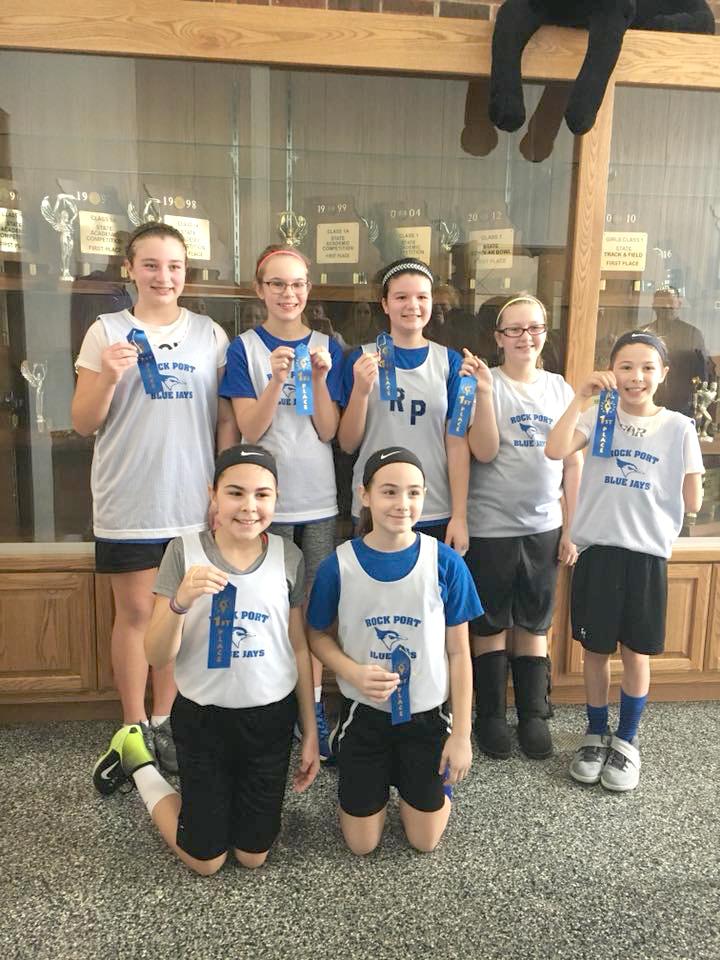 Rock Port 5th grade girls' basketball