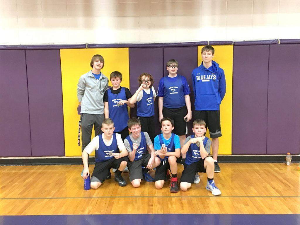 Rock Port 6th grade boys' basketball