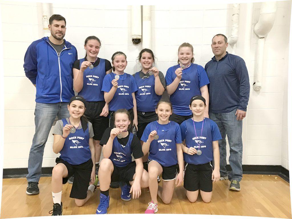 Rock Port 6th grade girls' basketball
