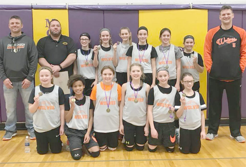 East Atchison 6th Grade Lady Wolves Basketball