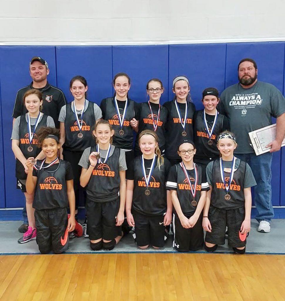 Sixth Grade Basketball Team