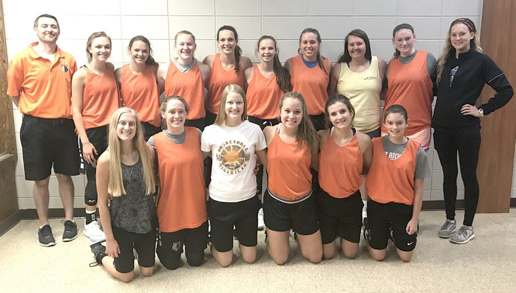 East Atchison Lady Wolves basketball team