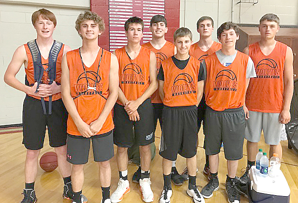 East Atchison Wolves' summer basketball