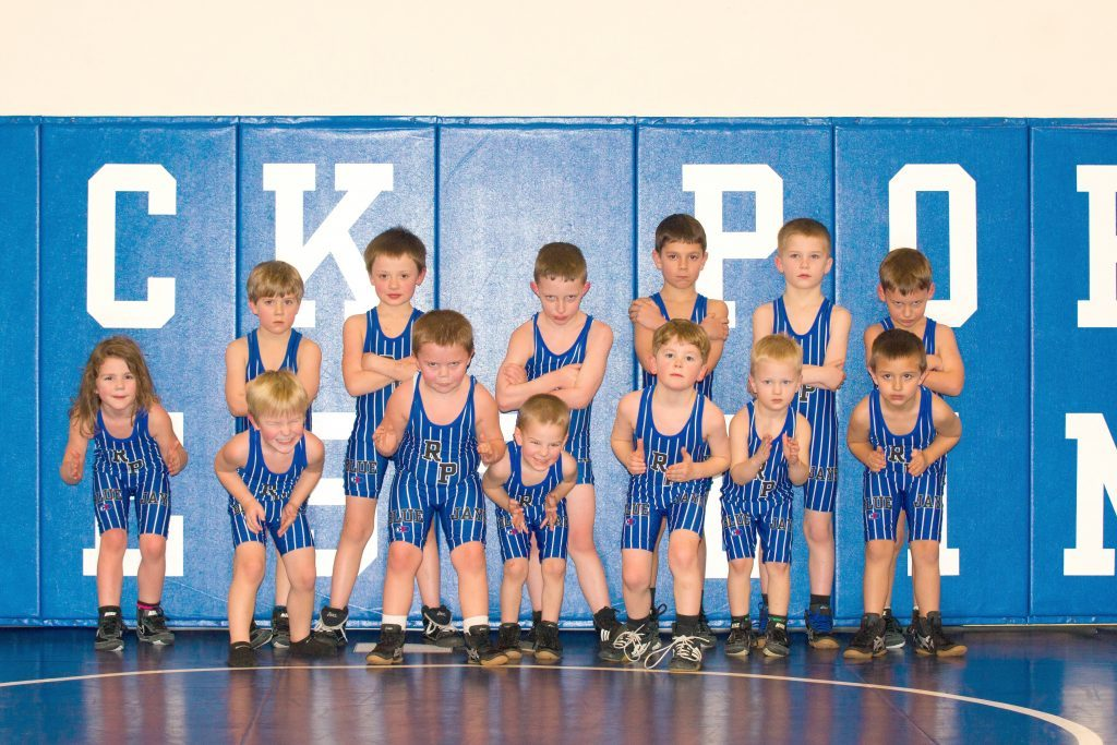 youth wrestling beginners group